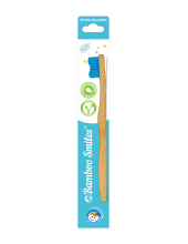 Bamboo Smiles Toothbrush Kids Very Soft Blue 1τεμάχιο