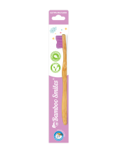 Bamboo Smiles Toothbrush Kids Very Soft Lila 1τεμάχιο