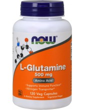 NOW L-Glutamine 500mg 120Caps