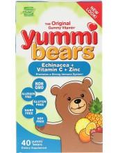 HERO YUMMI BEARS Echinacea + Vitamin C + Zinc 40 gummie bears