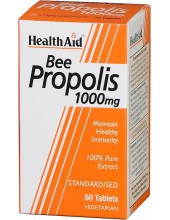 HEALTH AID Bee Propolis 1000mg, 60 vegeterian tabs