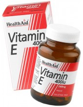 HEALTH AID Vitamin E 400iu, 30 vegeterian caps