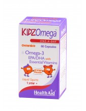 HEALTH AID Kidz Omega Chewable 60 caps