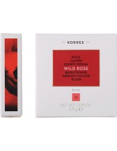KORRES Wild Rose Brightening Vibrant Colour Blush, 46 Bright Coral 5.5g