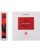 KORRES Wild Rose Brightening Vibrant Colour Blush, 24 Dusty Rose 5.5g