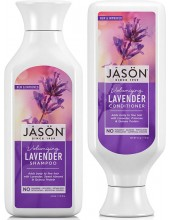 JASON Volumizing Lavender Shampoo 473ml & ΔΩΡΟ JASON Volumizing Lavender Conditioner 473ml