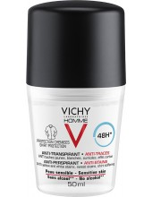 VICHY Homme 48h 'No Trace' Deodorant Roll-on 50ml