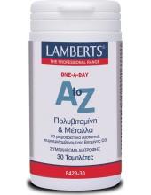 LAMBERTS A to Z Multivitamins & Minerals 30 Tabs