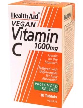 HEALTH AID Vitamin C 1000mg 30 Vegan Tabs