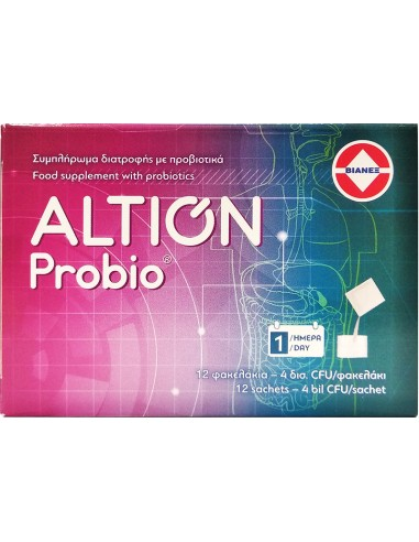 ALTION Probio with 4 Billion CFU, 12 sachets