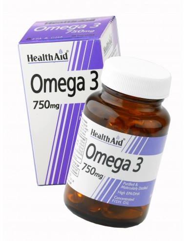 HEALTH AID Omega 3 750mg 30 tabs