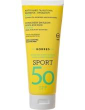 KORRES Sunscreen Face & Body Emulsion Citrus SPORT SPF 50, 200ml