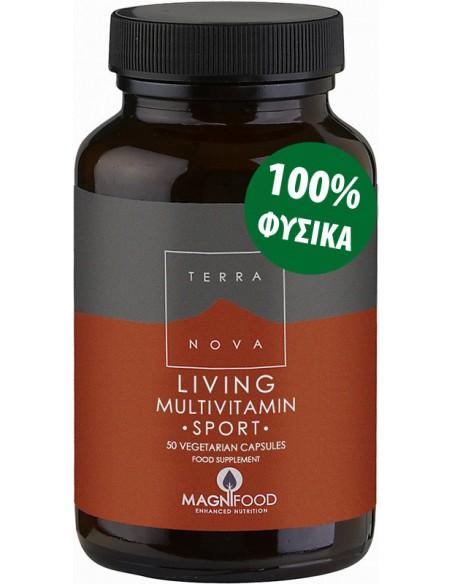TERRANOVA Living Multivitamin Sport 50 veg. caps