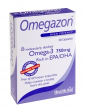 HEALTH AID Omegazon Omega 3 750mg 30 caps