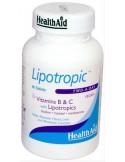 HEALTH AID Lipotropic B & C, 60 Tabs