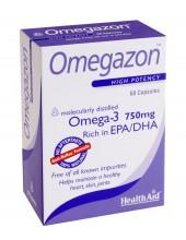 HEALTH AID Omegazon Omega 3 750mg 60 caps