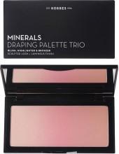 KORRES Minerals Draping Palette Trio Pink Palette