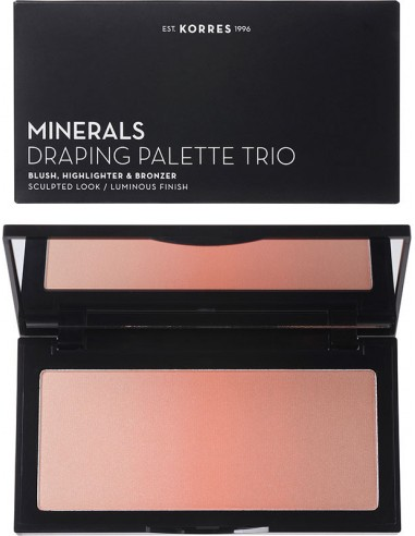 KORRES Minerals Draping Palette Trio Coral Palette
