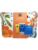 APIVITA Suncare Oil Balance Face Sun Cream SPF50, 50ml & After Sun Cooling Cream-Gel 150ml