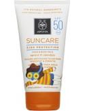 APIVITA Suncare Kids Protection Face & Body Milk Spf 50 Apricot & Calendula 150ml