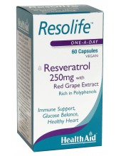HEALTH AID Resolife Resveratrol 250mg 60 vegan caps