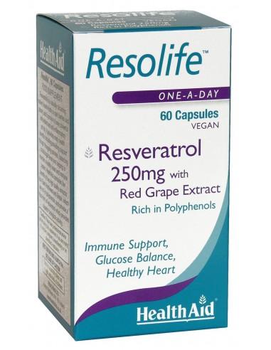 HEALTH AID Resolife Resveratrol 250mg...