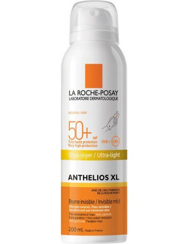 LA ROCHE-POSAY Anthelios XL Ultra light Invisible Mist SPF50+, 200ml