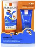LA ROCHE-POSAY Anthelios Dermo-Pediatrics Wet Skin Gel Lotion SPF50+, 250ml & ΔΩΡΟ Lipikar Gel Lavant 100ml