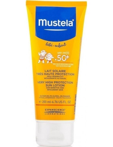 MUSTELA Very High Protection Sun Spray Spf50+ 200ml