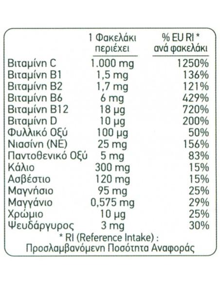Pfizer Emergen-C Orange 1000mg 10 sachets
