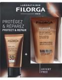 FILORGA UV-Bronze Face Anti-Ageing Sun Fluid SPF50+ 40ml & ΔΩΡΟ UV-Bronze After Sun 50ml
