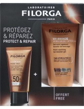 FILORGA UV-Bronze Face Anti-Ageing Sun Fluid SPF50+ 40ml & ΔΩΡΟ UV-Bronze After Sun 50ml