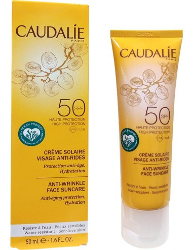 CAUDALIE Anti-Wrinkle Face Suncare SPF 50, 50ml