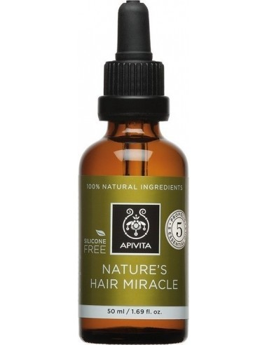 APIVITA Nature's Hair Miracle Oil 50ml