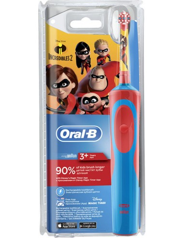 ORAL-B Stages Power Disney Incredibles Toothbrush for 3+ years age