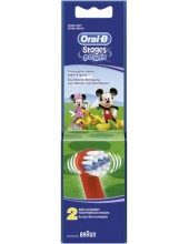 ORAL-B Stages Power 2 replacement brush heads Cars