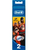 ORAL-B Stages Power 2 replacement brush heads Incredibles 2