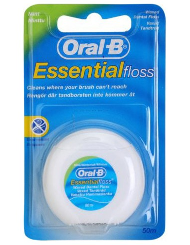 ORAL-B Essential Floss Con Cera Menta 50m