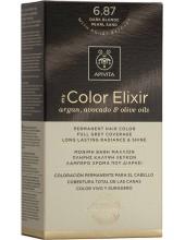 APIVITA my Color Elixir 6.87 Dark Blonde Pearl Sand - Ξανθό Σκούρο Περλέ Μπεζ