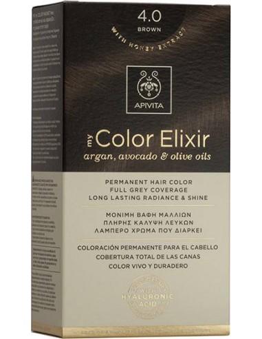 APIVITA my Color Elixir 4.0 Brown - Καστανό