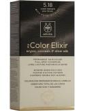 APIVITA my Color Elixir 5.18 Light Brown Ash Pearl - Καστανό Ανοιχτό Σαντρέ Περλέ