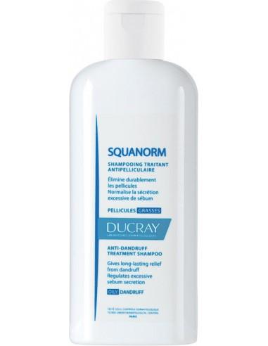 DUCRAY Squanorm Shampoo Pellicules Grasses 200ml