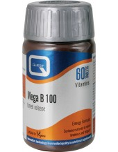 QUEST Mega B 100 Time Release 60 Tabs