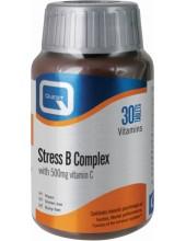 QUEST Stress B Complex with 500mg Vitamin C 30 Tabs