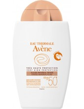 AVENE Tres Haute Protection Fluide Minerale Tinted SPF50+ 40ml