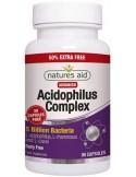 NATURES AID Acidophilus Complex 5 Billion Bacteria Probiotic, 90 caps