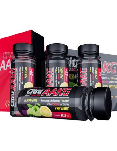 SCN Citru-AAKG Liquid Booster 4 x 60ml