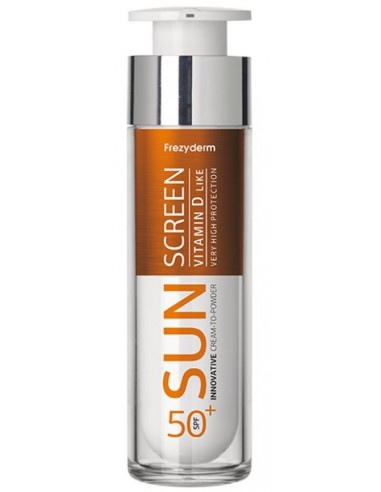 Frezyderm SunScreen Vitamin D Like, Cream-to-powder SPF50+, 50ml