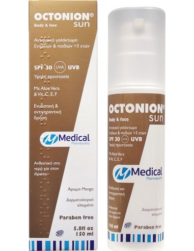 Medical PQ Octonion Sun Body & Face SPF30 Emulsion 150ml