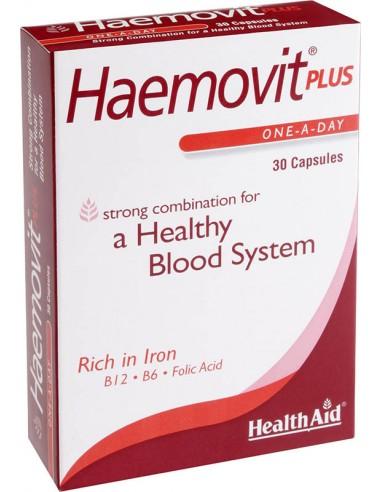 HEALTH AID Haemovit Plus 30 Caps